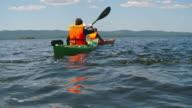 Kayaking in Lake video