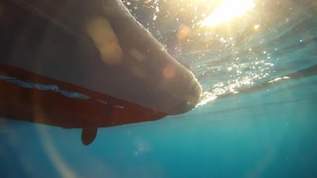 HD: Kayaking In The Sea video