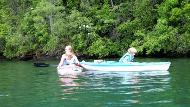 Kayaking On Lake video