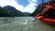 HD SLOW MOTION: Kayaking On The Lake video