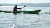 Kayaking on Waving Lake video