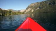 HD SLOW-MOTION: Kayaking video