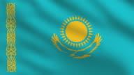 Kazakhstan Flag video