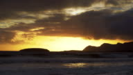 Keel Bay On Achill Island At Sunset video