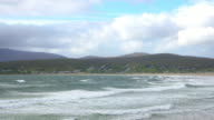 Keel Beach And Village On Achill Island From The East video