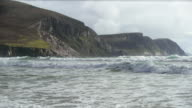 Keel Beach Coastline At Achill Island In Ireland video