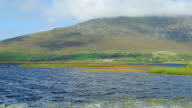 Keel Lough And Slievemore Mountain On Achill Island video