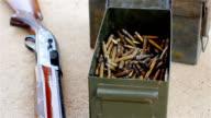 Keep shelling steel barrel video