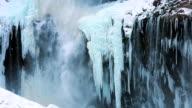 Kegon Waterfall (Kegon no taki) in winter video