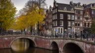 Keizergracht Bridges, Amsterdam - Time Lapse video