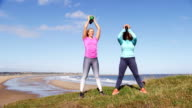 Kettle Bell Training Outdoors video