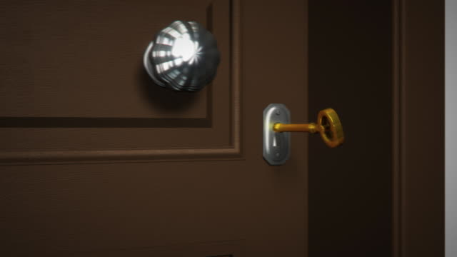 Key and Opening Door video