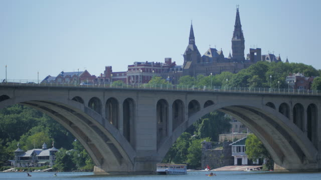 Key Bridge / Georgetown University video