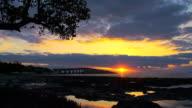 HD TIME LAPSE: Key West Bridge At Sunrise video