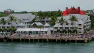 Key West, Florida, aerial video