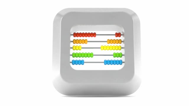 Keyboard button with abacus video