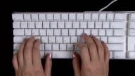 Keyboard operation video
