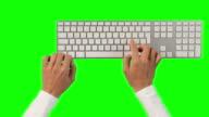 Keyboard typing Compilation video
