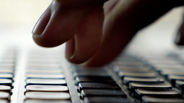 Keyboard typing (macro) video