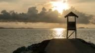 Khao Laem Ya and Samed National Park. sea landscape, rayong province, Thailand. video