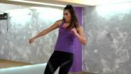 Kick box workout video