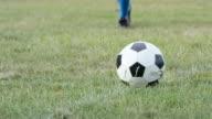 Kicking a Soccer Ball video