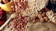 Kidney Beans Falling video