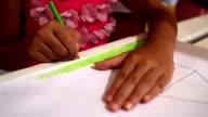 Kids Drawing video