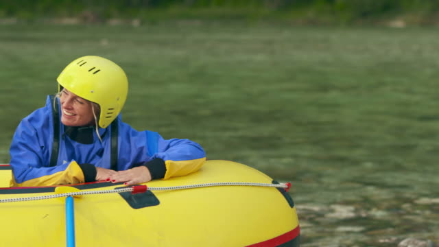 HD: Kids Having Fun Before Rafting video