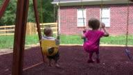 Kids on a swing video