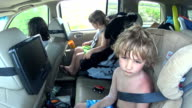 Kids Riding In Car video