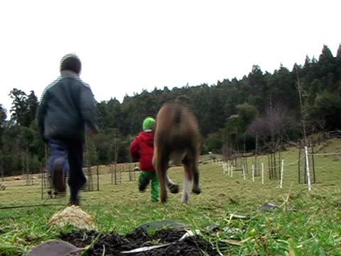 Kids Running Away video