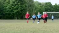 Kid's Soccer Game video