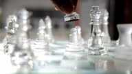 kill an enemy of chessman with a human hand video