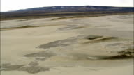 Killpecker Dune Field  - Aerial View - Wyoming, Sweetwater County, United States video