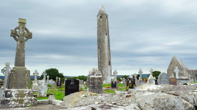 Kilmacduagh Monastery In County Galway video