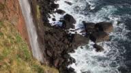 Kilt Rock Waterfall and coast video