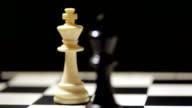 Kings on chess board video