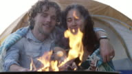 Kissing by the Fire video