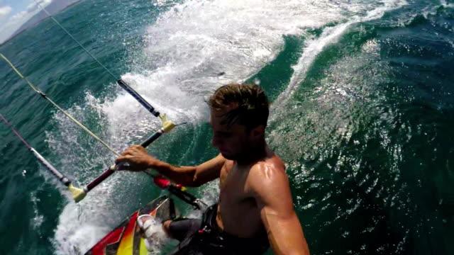 POV Kite Boarder video