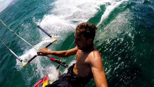 Kite Surfer POV video