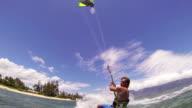 Kite Surfing video