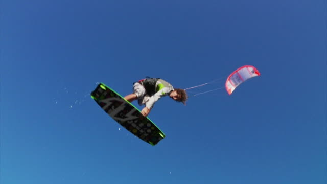 Kiteboarding Jump Sequence video