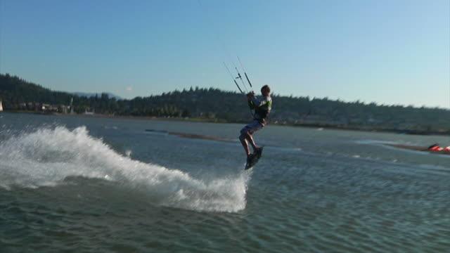 Kiteboarding Jump video