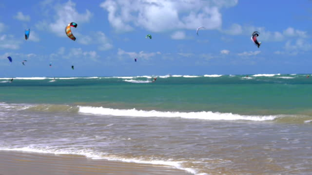 Kiteboarding spot video