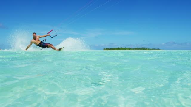 Kiteboarding video