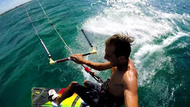 POV Kitesurfing Jump video