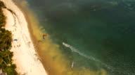 Kitesurfing on island Boracay and Bulabog Boracay island Philippines video