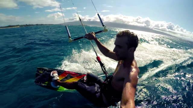 POV Kitesurfing video