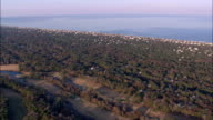 kitty hawk - Aerial View - North Carolina,  Dare County,  United States video